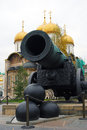 The king cannon tsar cannon moscow kremlin unesco world heritage site Royalty Free Stock Images