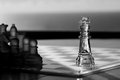 King Chess Piece - business concept series. Stock Photo