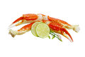 King Crab Legs Stock Photo