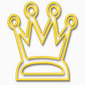 King crown Royalty Free Stock Image