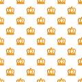 King crown pattern seamless