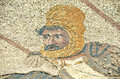 King darius ancient roman mosaic of the persian in the battle of issus against alexander the great Stock Images