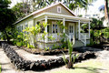 King david Kalakaua summer house Stock Photo