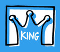 King emblem Royalty Free Stock Photos