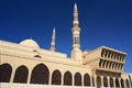 King Faisal mosque in Sharjah Royalty Free Stock Photo