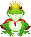 King of frog Stock Photo