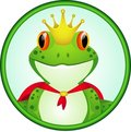 King of frog Royalty Free Stock Photography