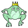 King frog Stock Photography