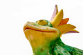 King Frog Royalty Free Stock Photo