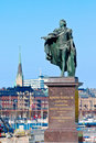 King Gustav III Royalty Free Stock Photo