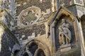 King Harold State at Waltham Abbey Church Royalty Free Stock Photo