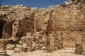 King Herod's palace Royalty Free Stock Photography