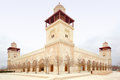 King hussein bin talal mosque in amman jordan Stock Images