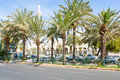 King Hussein Street in Aqaba Stock Images