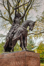 King Jagiello Monument - Central Park - NYC Royalty Free Stock Photo