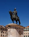 King Joao I Monument Royalty Free Stock Photos