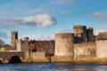 King John Castle in Limerick, Ireland Royalty Free Stock Photos