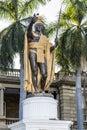 King Kamehameha Statue Royalty Free Stock Photo