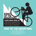 King of the mountains vector illustration Stock Image