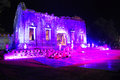 King narai reign festival light and sound shows at the palace on http wherethailand com fair takes place lopburi Royalty Free Stock Photography