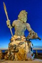 King Neptune at Neptune Park, Virginia Beach Royalty Free Stock Photos