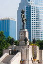 King Rama VI Statue Royalty Free Stock Photo