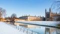 King's College, Cambridge University, England Royalty Free Stock Photo