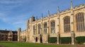 King s college in university of cambridge Royalty Free Stock Image