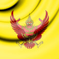 King`s Standard of the Thailand.