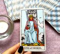 King of Swords Tarot Card Morals Ethics Manners Communication Conversation Debate Spokesperson Opinions Mental Discipline Reason