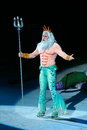 King Triton of Little Mermaid Stock Image