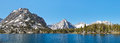 Kings canyon national park alpine lake panorama sierra nevada california usa Stock Images