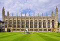 Kings College Chapel, Cambridge Royalty Free Stock Images