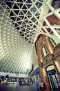 Kings cross railway station london uk sep interior on september in london uk opened in it is the southern terminus of the east Stock Photography