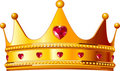 Kings crown Royalty Free Stock Photo