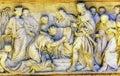 Kings Reading Bible Sculpture Saint Peter`s Basilica Vatican Rome italy Royalty Free Stock Photo