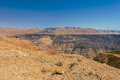 Kings way desert road dead sea jordan in Royalty Free Stock Image