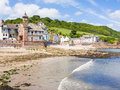 Kingsand cornwall england the village of on the rame peninsula in south east uk europe Stock Photo