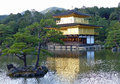 Kinkaku ji the golden pavilion and lake probably most famous of kyoto s thousands of temples Stock Images