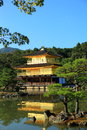 Kinkaku-ji Temple of the Golden Pavilion Royalty Free Stock Photos