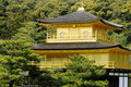 Kinkakuji, Golden Pavilion; Kyoto, Japan Royalty Free Stock Photography