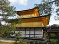Kinkakuji Golden Temple in Kyoto, Japan Royalty Free Stock Photo