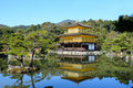 Kinkakuji tempel der goldene pavillon in kyoto japan Stockfoto