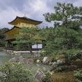 Kinkakuji Temple of the Golden Pavilion Royalty Free Stock Photos
