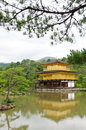 Kinkakuji temple the golden pavilion famous place in kyoto japan Stock Photography