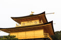 Kinkakuji temple golden pavilion kyoto japan Stock Photography