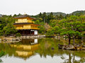 Kinkakuji temple kyoto japan the famous golden pavillion of Stock Images