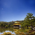 Kinkakuji temple in kyoto japan the golden pavilion Stock Photo