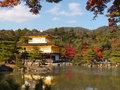 Kinkakuji temple pic of japan Stock Photos