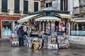 Kiosk in Venice Royalty Free Stock Image